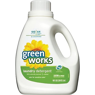 Clorox® Green Works® Laundry Detergent, Original Scent, 90 oz.