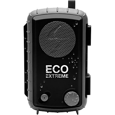 Grace Digital Eco Extreme Rugged All-Terrain Waterproof Speaker Case for MP3 Players and Smartphones, Black