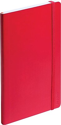 Poppin Small Soft Cover Notebook Red 100017