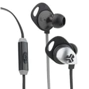 JBuds EPIC Earbuds with Mic, Black/Grey