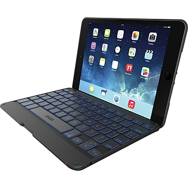 ZAGGKeys Folio for iPad Mini & Mini Retina-hinged Folio Mini Black
