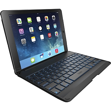 ZAGGKeys Cover Backlit for Apple iPad Air