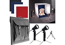 Electric Avenue Deluxe Table Top Photo Studio Photo Light Box