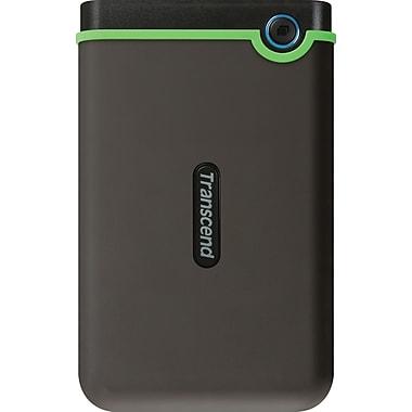 Transcend StoreJet 25M3 1TB Portable USB 3.0/2.0 External Hard Drive, Black (TS1TSJ25M3)