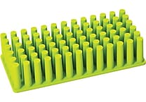 Poppin Lime Green Silicone Grip Grass