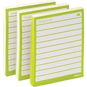 Poppin Lime Green Set of 3 Task Pads