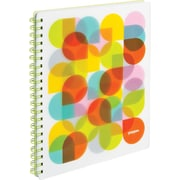 Poppin Lime Green Kaleidoscope 1-subject Notebook