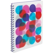 Poppin Purple Kaleidoscope 1-subject Notebook
