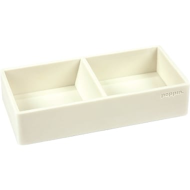 Poppin Softie This + That Tray, White, (100439)
