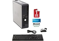Refurbished Dell 755, 160GB Hard Drive, 2GB Memory, Intel Core 2 Duo, Win 7 Home