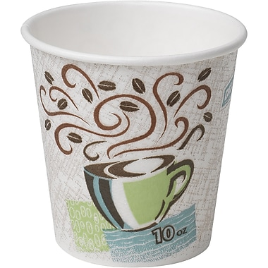 Dixie® PerfecTouch® Hot Cups, 10 oz., 500/Case