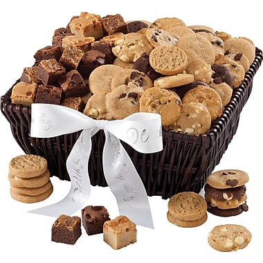Mrs. Fields® 72 Nibblers® and 36 Brownie Bites Sympathy Basket