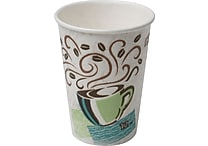 Dixie PerfecTouch 12 oz. Hot Cups, 500/Case