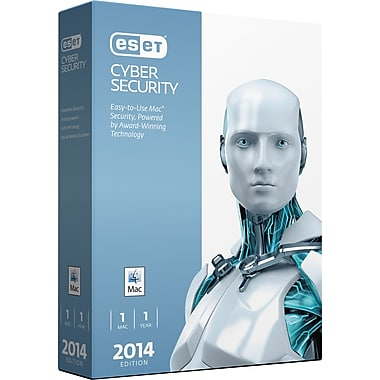 ESET® Cyber Security 2014, Virus Protection for Mac, Bilingual, 1 Mac