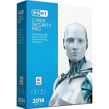 ESET® Cyber Security Pro 2014, Internet Security for Mac, Bilingual, 1 Mac