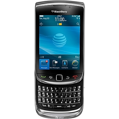 Blackberry Torch 9800 Unlocked GSM OS 6.0 Cell Phone, Black