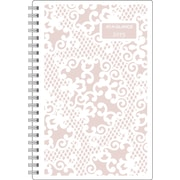 AT-A-GLANCE® Madonna Lace Professional Weekly/Monthly Planner, 8 1/2 x 11, 2015