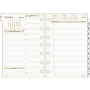 "2016 Day Runner® Two-Pages-Per-Day Planning Pages Refill, Size 4, 5 1/2'' x 8 1/2"", (481-225-16)"