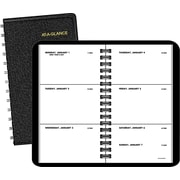 "2016 AT-A-GLANCE® Weekly Planner, 2 1/2"" x 4 1/2"", Black, (70-035-05)"