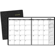 "2016 AT-A-GLANCE® Monthly Planner, 9"" x 11"", Black, (70-260-05)"