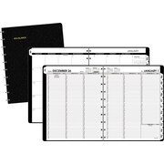"2016 AT-A-GLANCE® MOVE-A-PAGE Weekly/Monthly Appointment Book Planner, 8 3/4"" x 11"", Black, (70-950E-05-16)"