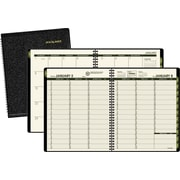 2015 AT-A-GLANCE® Recycled Weekly/Monthly Appointment Book, 6 7/8 x 8 3/4