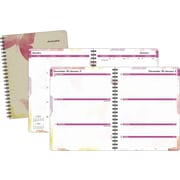 2015 AT-A-GLANCE® Watercolors Weekly/Monthly Planner, 8 1/2 x 11