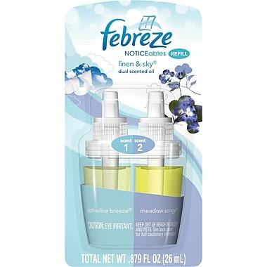 Febreze PLUG Air Freshener Refill Linen & Sky (1 Count, 0.87 oz)