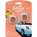 Febreze Car Vent Clips Air Fresheners, Hawaiian Aloha, 2/Pack