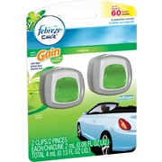 Febreze® Car Vent Clips Air Fresheners, Gain®, 2/Pack