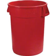 Carlisle 34102005, 20 Gal Bronco Plastic Waste Container, Red