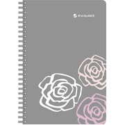 AT-A-GLANCE® Pink Petals Weekly/Monthly Appointment Book, 5 1/2 x 8 1/2, 2015