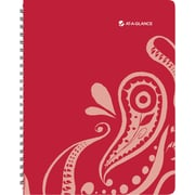 AT-A-GLANCE® Playful Paisley Professional Weekly/Monthly Appointment Book, 8 1/2 x 11, 2015