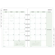 "2016 Day-Timer® Monthly Classic Refill, Size 4, 5 1/2"" x 8 1/2"", White, (87229-1601)"