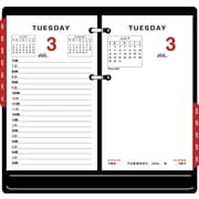 "2016 AT-A-GLANCE® Two-Color Desk Calendar Refill, 3 1/2'' x 6"", White, (E017-50)"