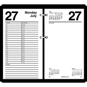 "2016 AT-A-GLANCE® Large Desk Calendar Refill, 4 1/2"" x 8"", White, (E210-50)"