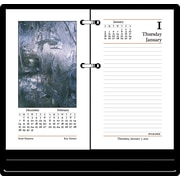 2015 AT-A-GLANCE® Photographic Desk Calendar Refill, 3 1/2 x 6