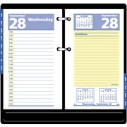 "2016 AT-A-GLANCE® QuickNotes® Desk Calendar Refill, 3 1/2'' x 6"", Blue/Yellow, (E517-50)"