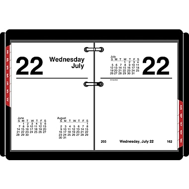 2015 AT-A-GLANCE® Compact Desk Calendar Refill, 3in. x 3 3/4in.