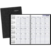 "2016 DayMinder® Monthly Planner, 7 7/8"" x 11 7/8"", Black, (G470-00)"