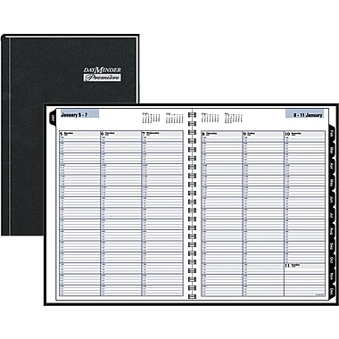 2015 DayMinder® Premiere Recycled Weekly Appointment Book, 8in. x 11in.