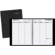 "2016 DayMinder® Weekly Planner, 6 7/8"" x 8 3/4"", Black, (G590-00)"