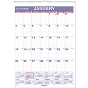 "2016 AT-A-GLANCE Monthly Wall Calendar, 8'' x 11"", White, (PM1-28)"