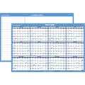 2015 AT-A-GLANCE® Horizontal Erasable Wall Planner, 24in. x 36in.