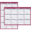2015 AT-A-GLANCE® Paper Vertical/Horizontal Wall Calendar, 24in. x 36in.
