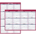 2015 AT-A-GLANCE® Vertical/Horizontal Erasable Wall Calendar, 32in. x 48in.