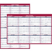 "2016 AT-A-GLANCE® Vertical/Horizontal Erasable Wall Calendar, 32'' x 48"", Red/White, (PM326-28)"
