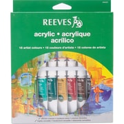 REEVES Non-toxic Acrylic Paint Tube Set, 10 ml (8493201)