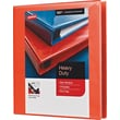 1in. Staples® Heavy-Duty View Binder with D-Rings, Orange