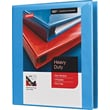 "1"" Staples® Heavy-Duty View Binder with D-Rings, Light Blue"